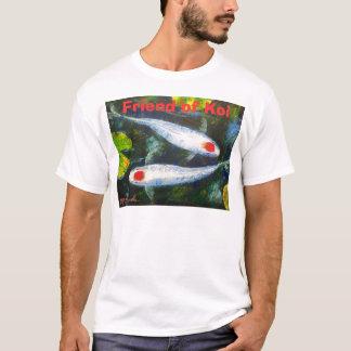 Friend of Koi T-Shirts by Mazz Art