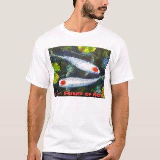 Friend of Koi T- Shirts by Mazz Art