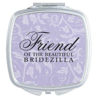 Friend of the Bride / Bridezilla Wedding Gift Vanity Mirror