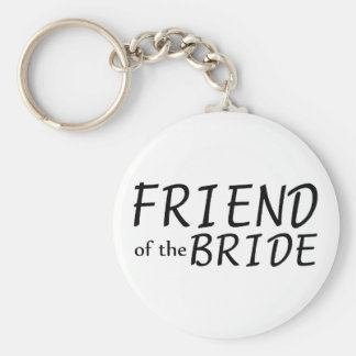 Friend Of The Bride Keychain