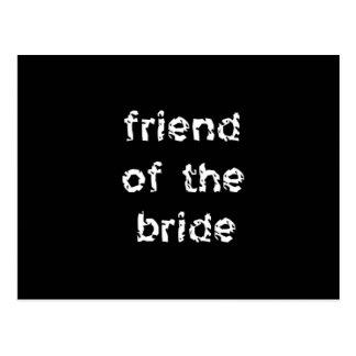 Friend of the Bride Postcard