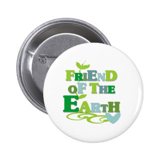 Friend of the Earth Pinback Button