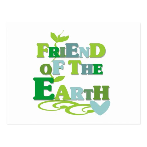 Friend of the Earth Post Cards