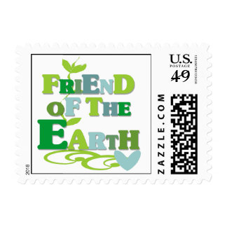 Friend of the Earth T-shirts and Gifts Stamp