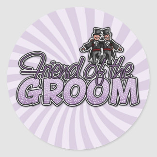 friend of the groom stickers