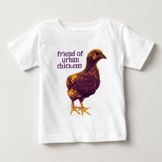 Friend of Urban Chickens Baby T-Shirt