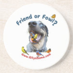 Friend or Fowl Bird Dog Coaster