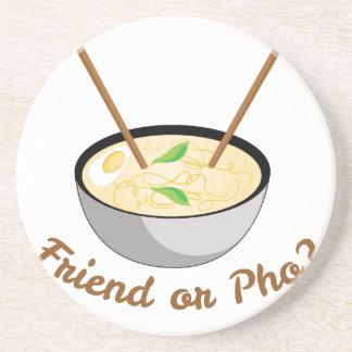 Friend Or Pho Coaster