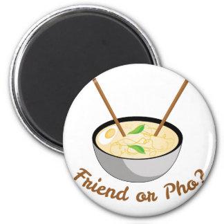 Friend Or Pho Magnet