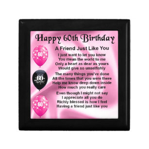 Friends 60th Birthday Gifts On Zazzle