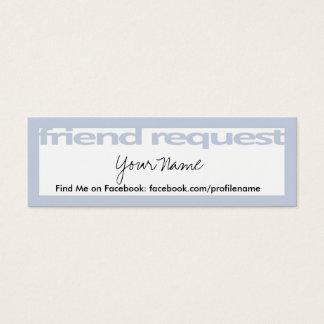 Friend Request Cards