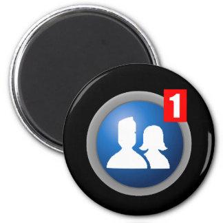 Friend Request Magnet