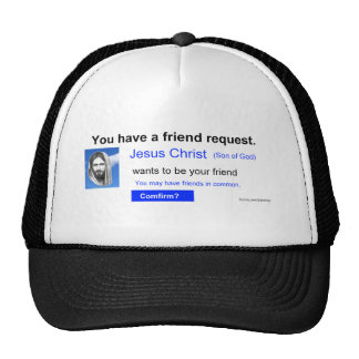 Friend Request Trucker Hat