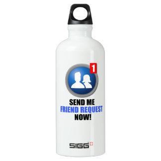 Friend Request Water Bottle