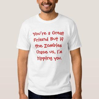 Friend Vs Zombie Shirt