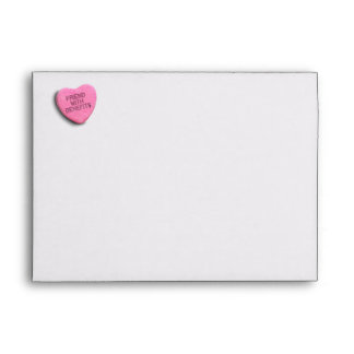 FRIEND WITH BENEFITS CANDY ENVELOPE