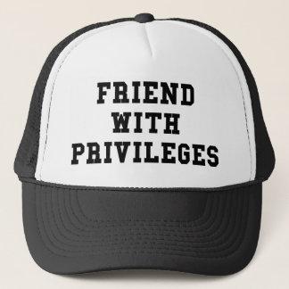 Friend With Privileges Trucker Hat