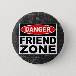 Friend Zone Pinback Button