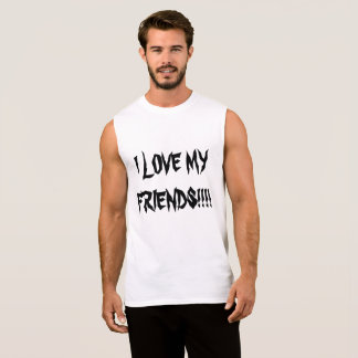 friendcore sleeveless shirt