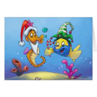 FriendFish Christmas Card