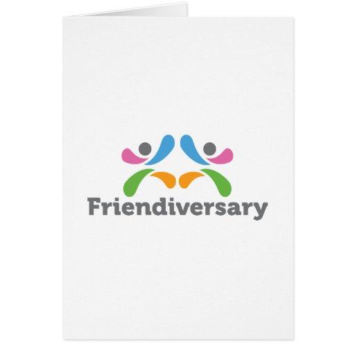 Friendiversary_Logo Tarjeta De Felicitación