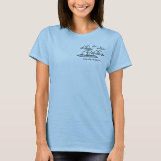 Friendly AliEN Invasion - Ladies T T-Shirt