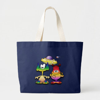 Friendly Aliens and a Flying Saucer Bag