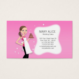 Friendly Baking Business Card Template