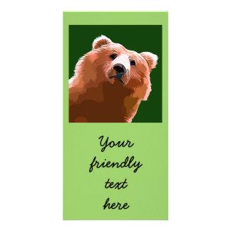 Friendly Bear. Card