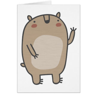 Friendly Bear Greeting Card