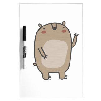 Friendly Bear Dry-Erase Board