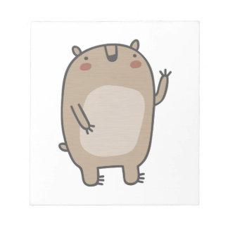 Friendly Bear Notepads