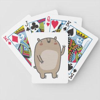 Friendly Bear Poker Cards