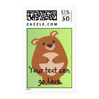 Friendly Bear Postage