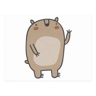 Friendly Bear Postcard