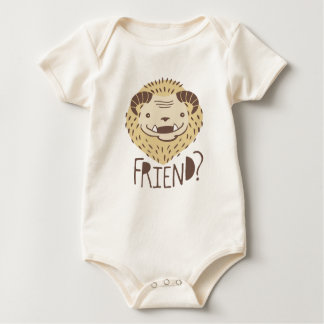 Friendly Beast Baby Bodysuit