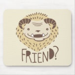 Friendly Beast Mouse Pad