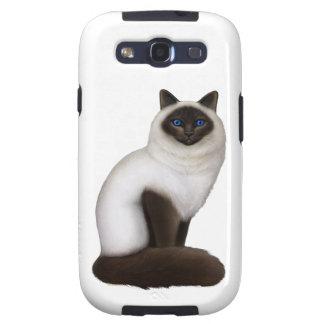 Friendly Birman Cat Samsung Galaxy Case Galaxy S3 Cover