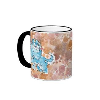 Friendly Blue Monster Mug