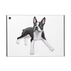 Powis iCase iPad Mini Case with Kickstand with Boston Terrier Phone Cases design