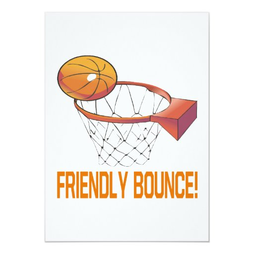 Friendly Bounce Card