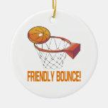 Friendly Bounce Christmas Ornaments