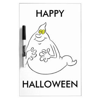 Friendly Cartoon Style Halloween Ghost Dry-Erase Whiteboards