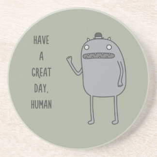 Friendly Creature Drink Coaster