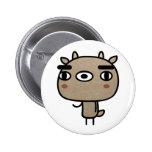 Friendly Deer Button