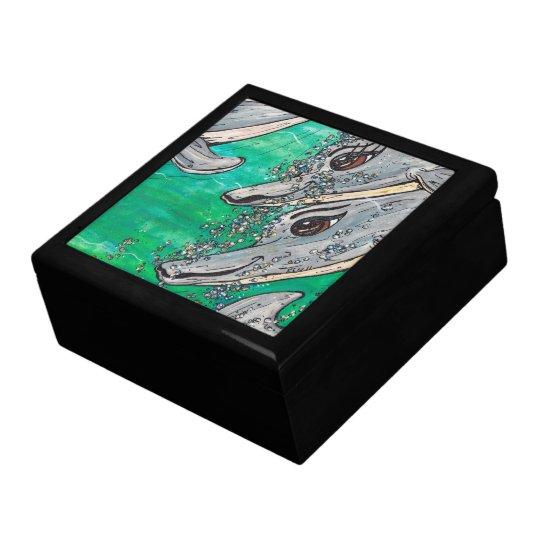 Friendly Dolphin Pod gift box