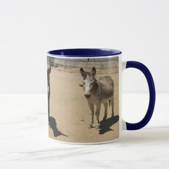 Friendly Donkey Herd Mug