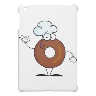 Friendly Donut Cartoon Character Cover For The iPad Mini