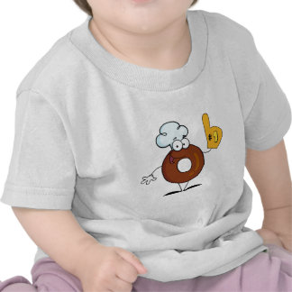 Friendly Donut Cartoon Character Number One Shirts