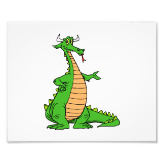 friendly dragon hand out.png photo print